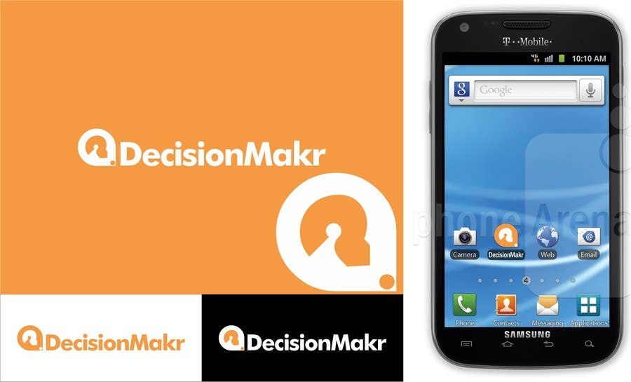 Kilpailutyö #118 kilpailussa Logo + Icon Design For Mobile Application