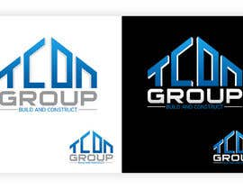 #429 untuk Logo Design for TCON GROUP oleh cstudiodesigns