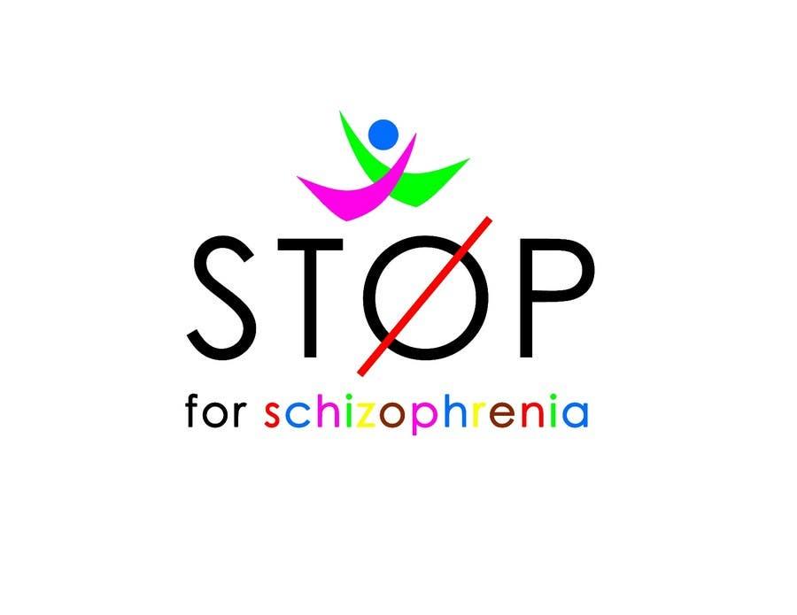 Inscrição nº                                         98                                      do Concurso para                                         Logo Design for Logo is for a campaign called 'Stop' run by the Schizophrenia Research Institute