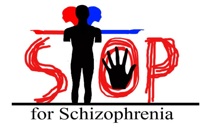 Inscrição nº                                         139                                      do Concurso para                                         Logo Design for Logo is for a campaign called 'Stop' run by the Schizophrenia Research Institute