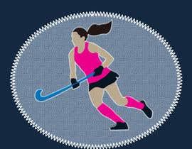 tynarina tarafından Design a Field Hockey Patch for Bags and Backpacks için no 15