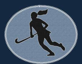 tynarina tarafından Design a Field Hockey Patch for Bags and Backpacks için no 16