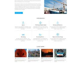 Nro 36 kilpailuun Redesign of www.shipping-services.de käyttäjältä designerchoize