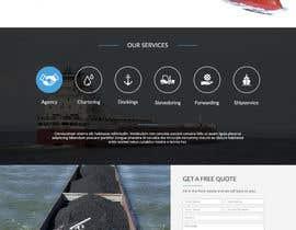 Nro 32 kilpailuun Redesign of www.shipping-services.de käyttäjältä Batto14