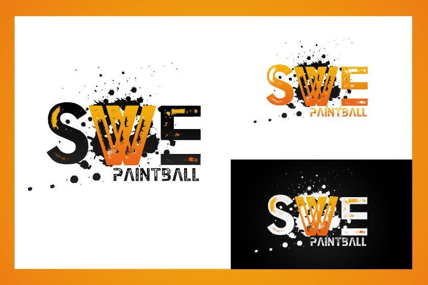 Kilpailutyö #61 kilpailussa Logo Design for SWEpaintball