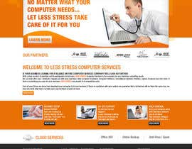 #3 para Website Design for Less Stress Computer Services por tania06