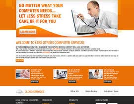 #6 para Website Design for Less Stress Computer Services por tania06