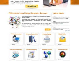 #28 para Website Design for Less Stress Computer Services por alimoon138
