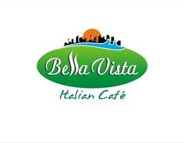 #120 untuk Logo Design for Bella Vista -- Italian Café oleh sharpminds40