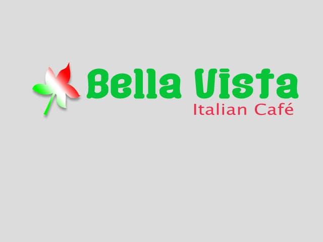 Kilpailutyö #269 kilpailussa Logo Design for Bella Vista -- Italian Café