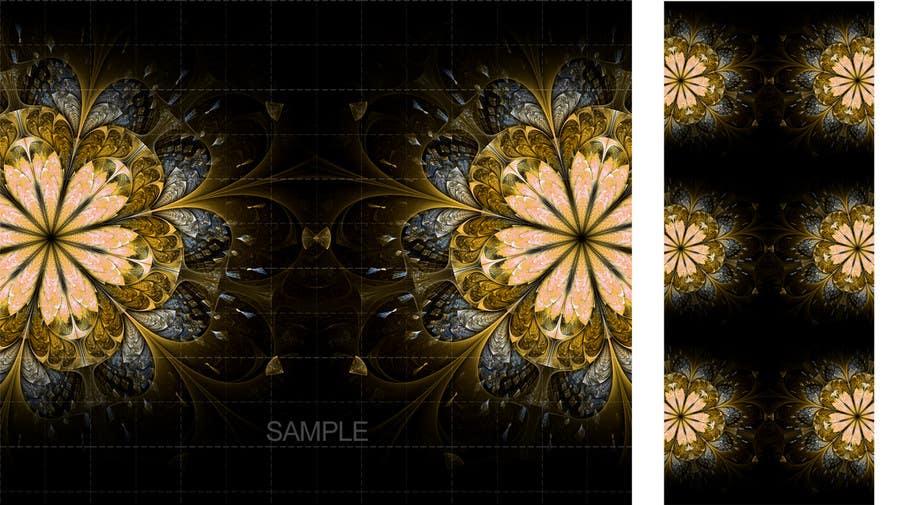 Inscrição nº 20 do Concurso para Graphic Design for background image (Fashion - Floral Design)