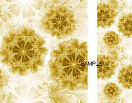 #23 para Graphic Design for background image (Fashion - Floral Design) por ashleyzarb