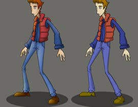 nº 8 pour Create 2D Animation of Adventure Game characteer par rokkie