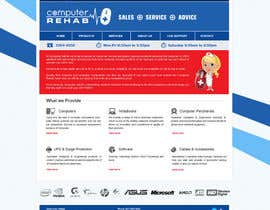 #7 для Website Design for Computer Rehab от millinpanwar