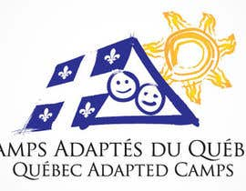 #13 for Logo Design for Quebec Adapted Camps / Camps Adaptés Québec by raffyph1