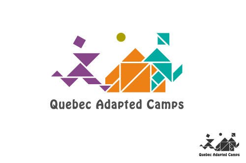Kilpailutyö #21 kilpailussa Logo Design for Quebec Adapted Camps / Camps Adaptés Québec