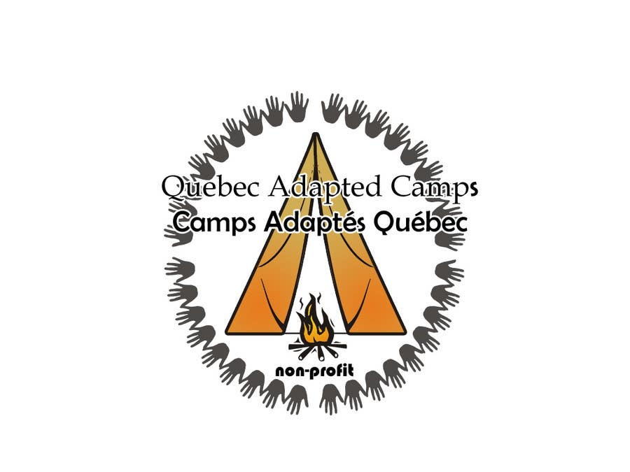 Inscrição nº                                         3                                      do Concurso para                                         Logo Design for Quebec Adapted Camps / Camps Adaptés Québec