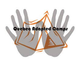 #7 pentru Logo Design for Quebec Adapted Camps / Camps Adaptés Québec de către omarnassar