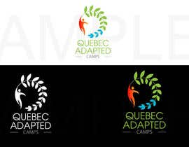 #44 untuk Logo Design for Quebec Adapted Camps / Camps Adaptés Québec oleh quaarc