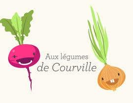 """nº 25 pour Améliorer notre logo """"Aux légumes de Courville"""" par Katt27"""