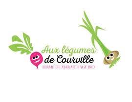 """nº 18 pour Améliorer notre logo """"Aux légumes de Courville"""" par sheikhfarid21"""