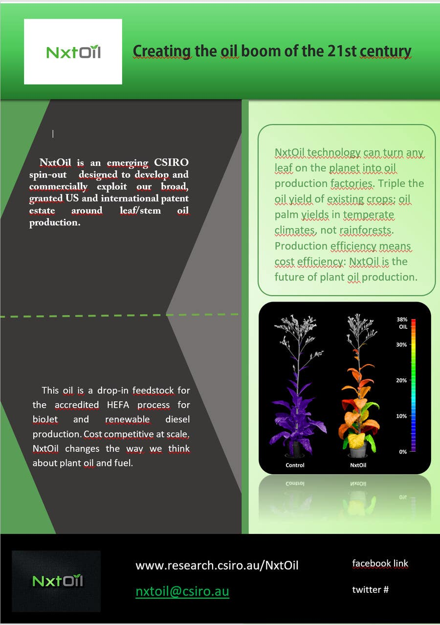 Entry 2 By Pixenergy For Design A One Page Handoutbrochure Plus A