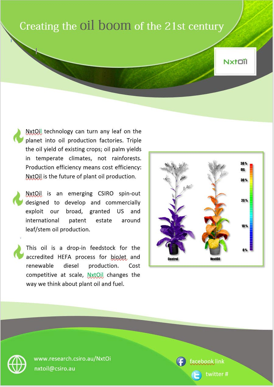 Entry 23 By Pixenergy For Design A One Page Handoutbrochure Plus A