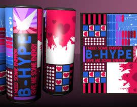 Meringo tarafından Photoshop Design for B-Hype Energy Drink için no 105