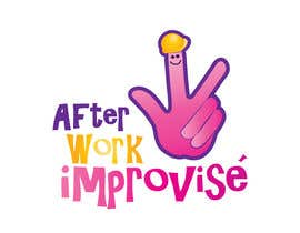 #48 para Logo Design for After Work improvisé por misutase