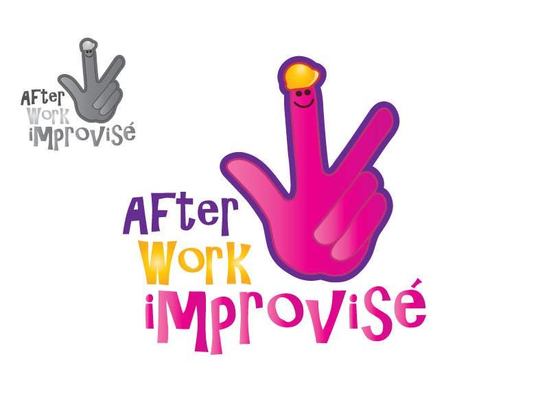 #46 for Logo Design for After Work improvisé by misutase