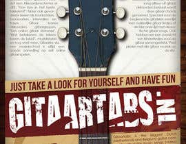 #8 untuk Flyer Design for Gitaartabs.nl an online guitar community with pro vido lesson and songs oleh thuanbui