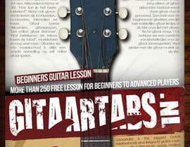 #13 para Flyer Design for Gitaartabs.nl an online guitar community with pro vido lesson and songs por thuanbui