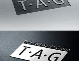 #179 para Logo Design for Technical Audio Group    TAG por twocats