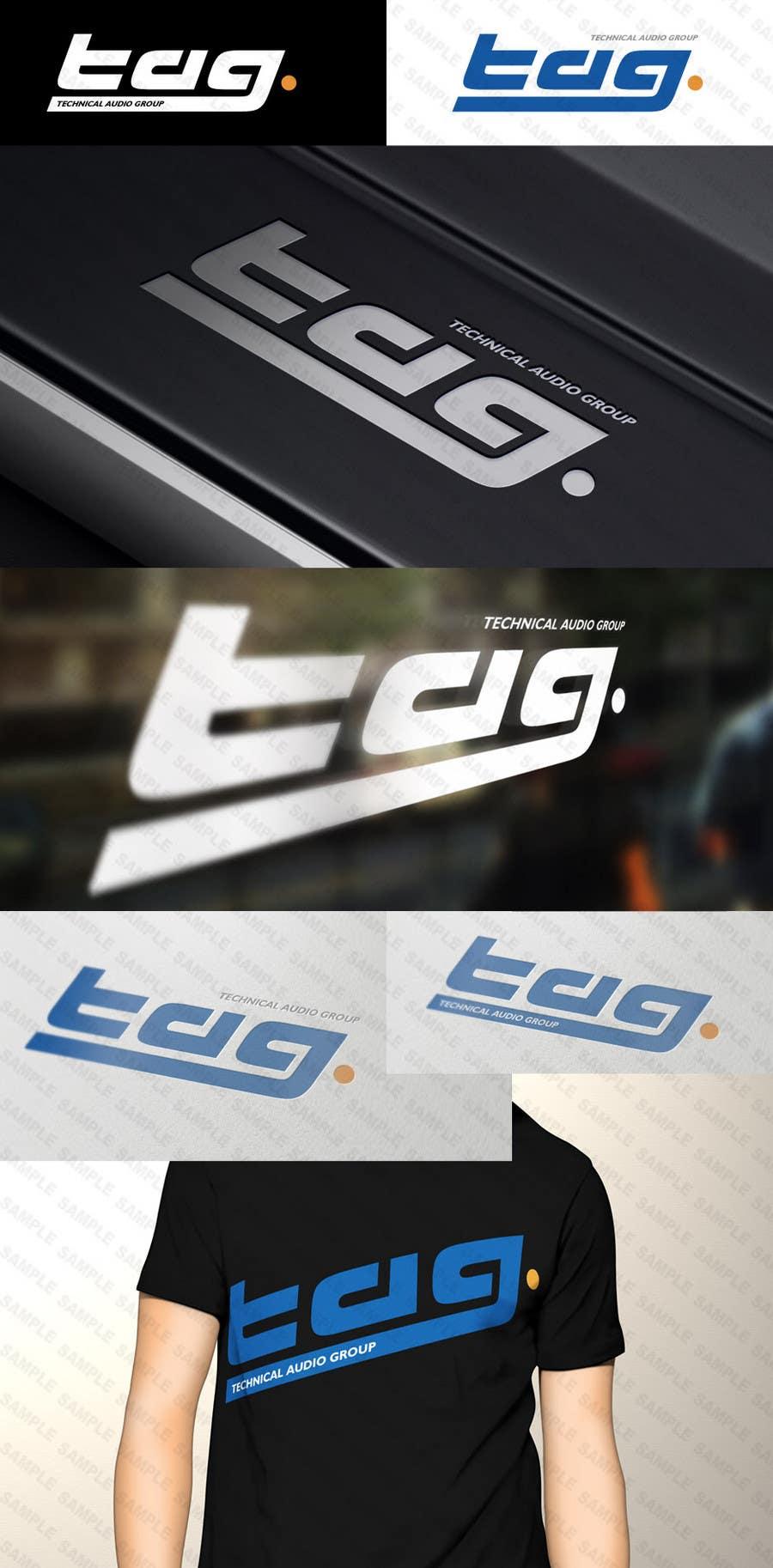 #178 for Logo Design for Technical Audio Group    TAG by Diametrik