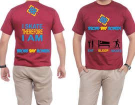 #61 para Design a T-Shirt for Skate Company por AshrayaG