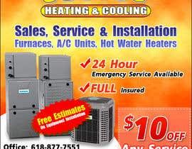 nº 23 pour Design an Advertisement for heating & cooling par LampangITPlus