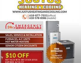 nº 28 pour Design an Advertisement for heating & cooling par rafaislam