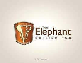 nº 146 pour Logo Design for The Elephant British Pub par KelvinOTIS