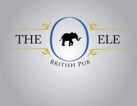 #198 для Logo Design for The Elephant British Pub от Mdav123