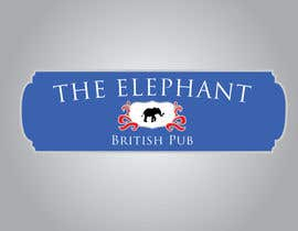 #197 для Logo Design for The Elephant British Pub от Mdav123