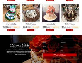 #57 for Design a Website Mockup and corporate identity for cake business af seguro