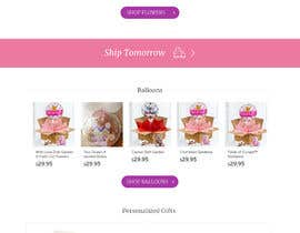 #2 for Gift Baskets, Personalized Gifts, Flowers & Balloons Homepage, and Product and Sub product pages Design Improvement Project af Studionewvision