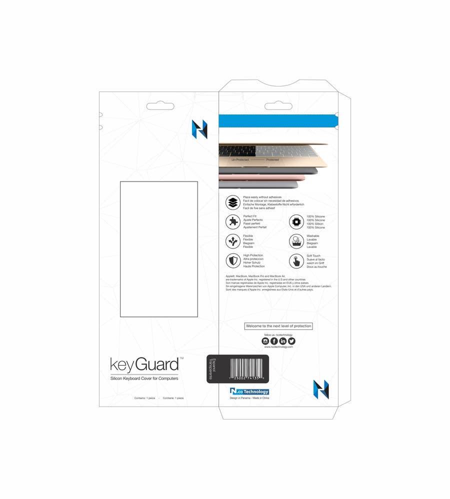 Penyertaan Peraduan #23 untuk Packaging Designs Silicon Keyboard for mac