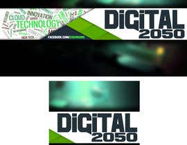 #26 for Design a Logo / Banner for Digital2050 by Kitteehdesign