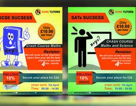 #5 for Design a Tutoring Flyer with logo size A5 by parvezraton