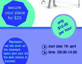 #12 for Design a Tutoring Flyer with logo size A5 by tarin858