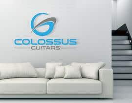 Nro 117 kilpailuun Guitar headstock logo for Colossus Guitars käyttäjältä graphicrivers