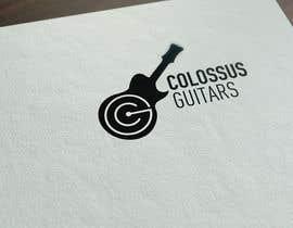 Nro 130 kilpailuun Guitar headstock logo for Colossus Guitars käyttäjältä Senagraph