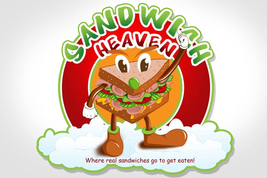 Penyertaan Peraduan #32 untuk Logo Design for SandwichHeaven