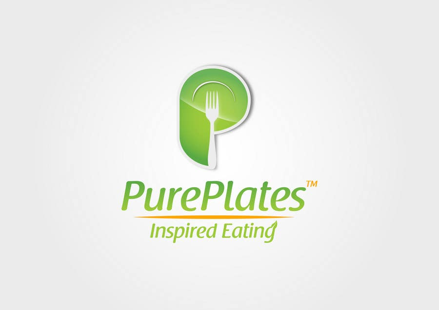 """Proposition n°275 du concours Logo Design for """"Pure Plates ... Inspired Eating"""" (with trade mark bug)"""
